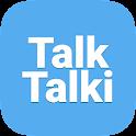 토익스피킹 오픽, 영어스피킹- 톡톡키 TalkTalki icon