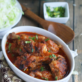 African Chicken Stew.