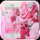 Beautiful Pink Rose Diamond Theme for PC Windows 10/8/7