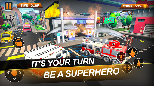 Fire Truck Emergency City Rescue: HQ Mission Sims 1.0 de.gamequotes.net 3