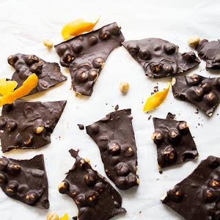 Orange Chocolate Hazelnut Bark