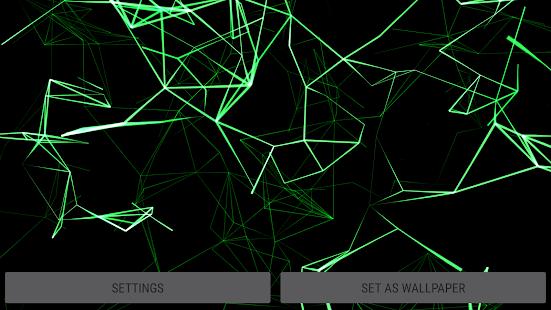 [Neon Particles 3D Live Wallpaper] Screenshot 13
