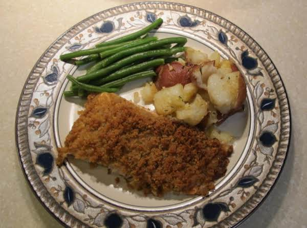 Parmesan-crusted Salmon