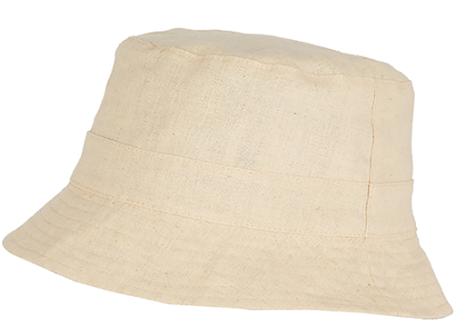 Bucket hatt, natur