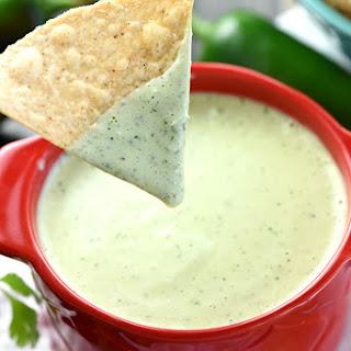Creamy Jalapeño Dip.