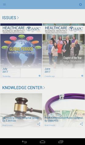 AAPC Content Screenshot
