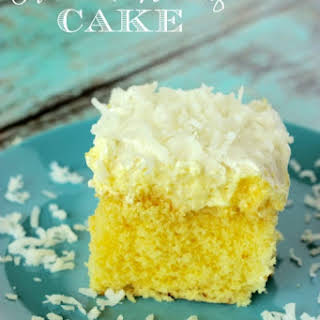 Cake Mix Sour Cream Pineapple Coconut Whip Topping Pudding