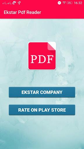 Ekstar Pdf Reader Apps for Android screenshot