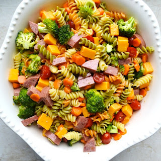My Mom's Pasta Salad