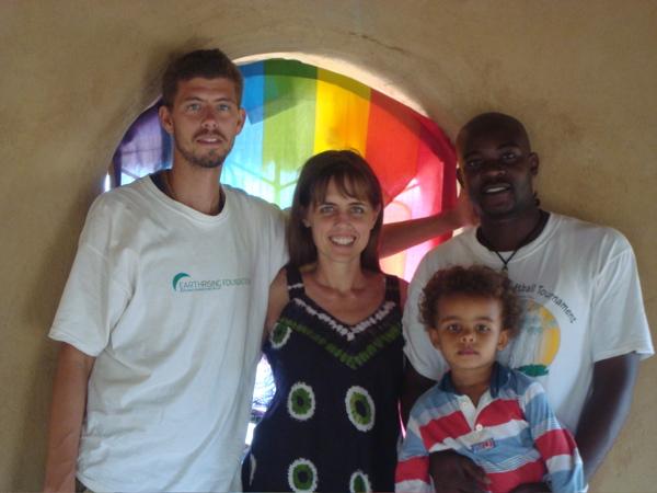 Photo: Adam , Terri, Caito and Justis