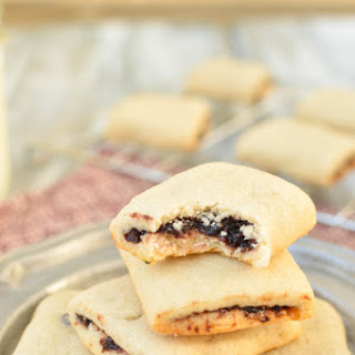 Blueberry Fig Newton Cookies