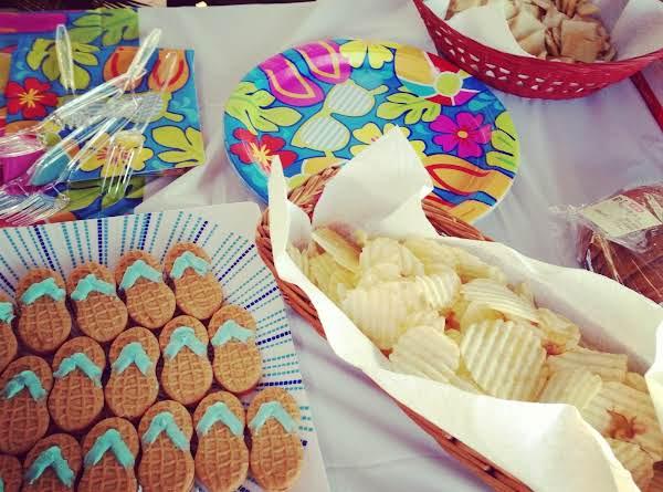 Flip Flop Cookies Recipe