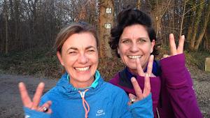 Valérie et Florence vont courir le semi-marathon 2015 au profit de L'Arche à Paris