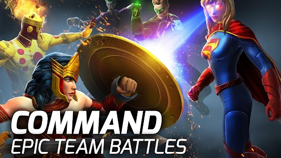 DC Legends Battle for Justice v 1 24 1 APK + Hack MOD (mega