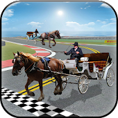 Horse Cart Racing Simulator 3D