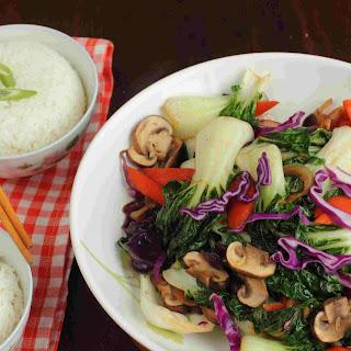 Vegetarian Stir Fry Bok Choy Recipes