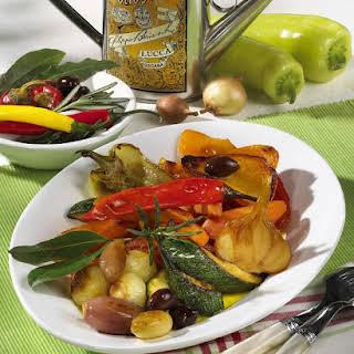 Vegetable Antipasti.