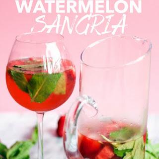 Strawberry Watermelon Sangria Recipe