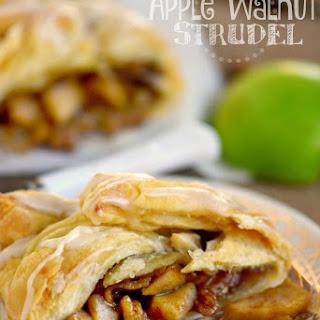 Apple Walnut Strudel Recipe