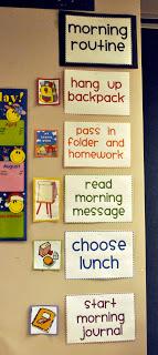 teaching second grade routine