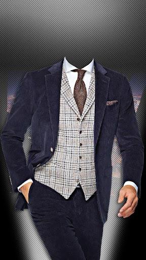 纽约男士流行服饰照片蒙太奇