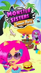 Monster Sisters Summer Party- screenshot thumbnail