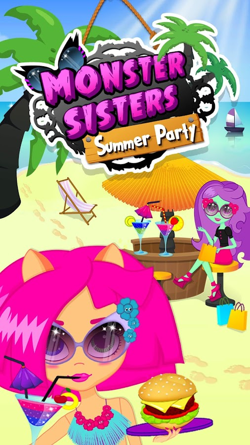 Monster Sisters Summer Party- screenshot