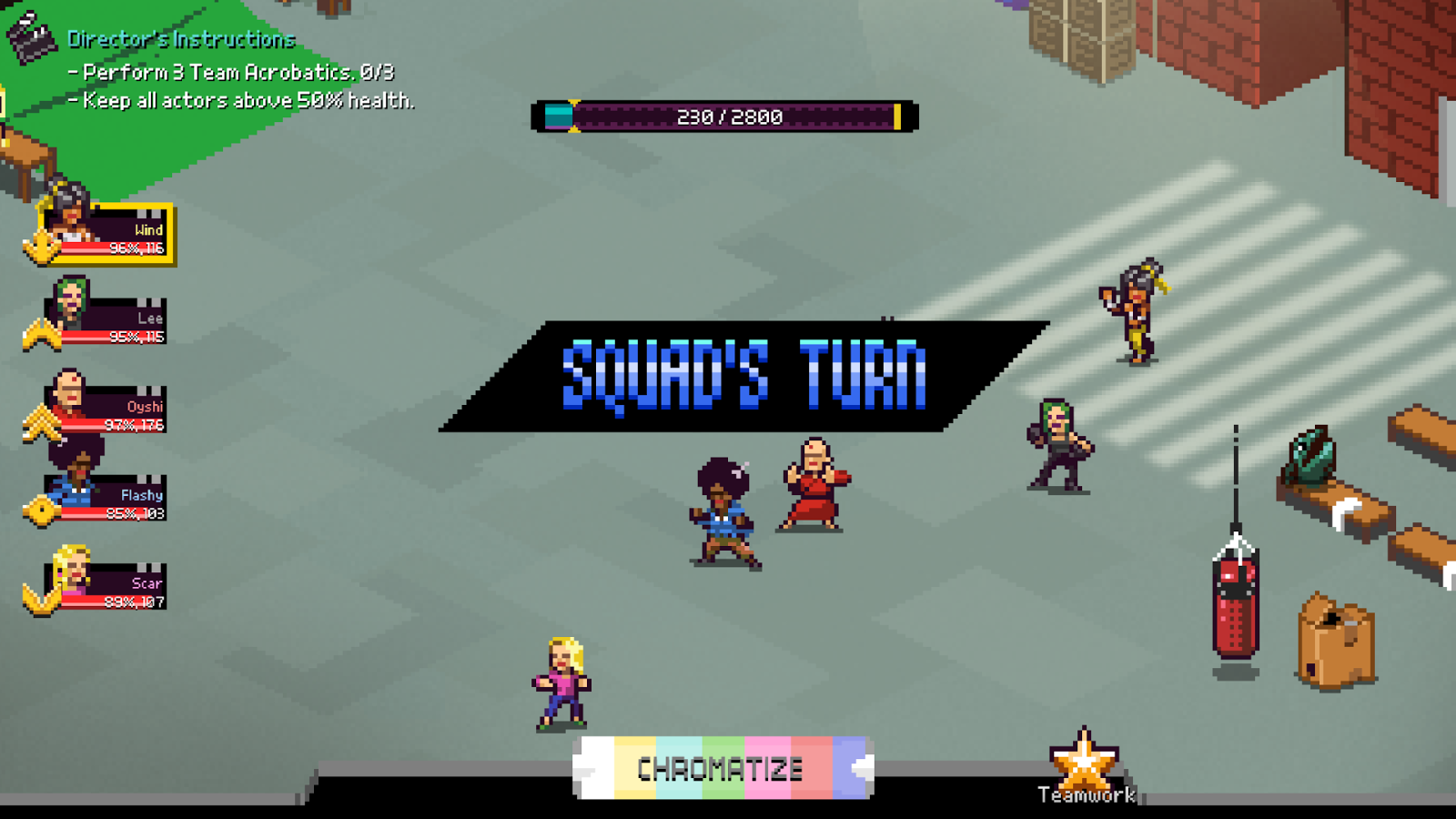Chroma Squad- screenshot