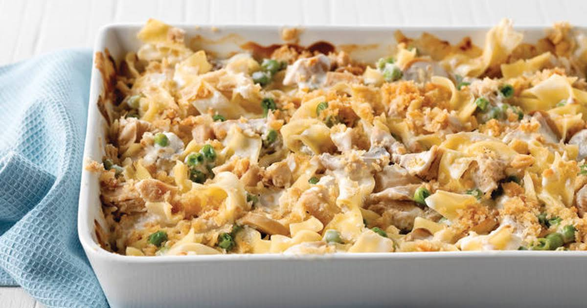 tuna noodle casserole without cream of mushroom soup
