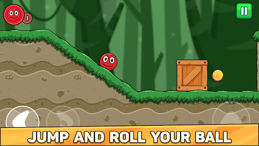 Bounce Ball 6: Red Bounce Ball Hero filehippodl screenshot 2