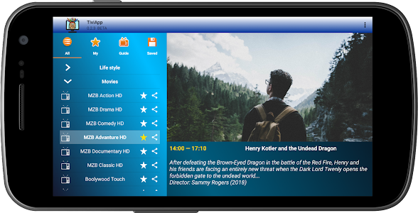 TiviApp Live - Best TV, IPTV and VOD Media Player 0.2.21
