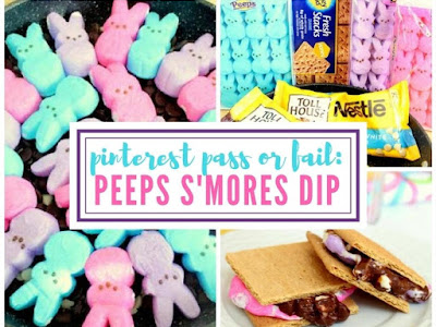 Pinterest Pass or Fail: Peeps S'mores Dip