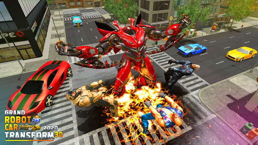 Grand Robot Car Transform 3D Game  screenshots 11