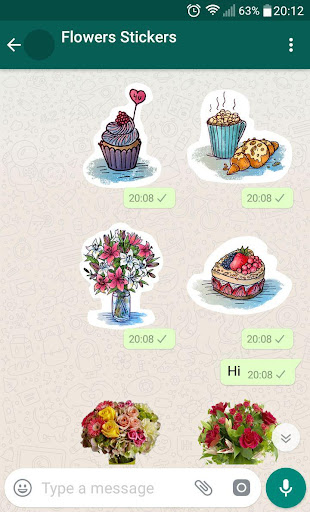 New WAStickerApps ud83cudf39 Flower Stickers For WhatsApp 1.3 screenshots 8