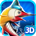 Fishing 3D icon