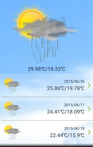 天气报告 免费