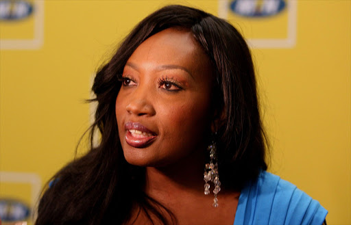 Sophie Ndaba has been pitching a reality show to broadcasters.