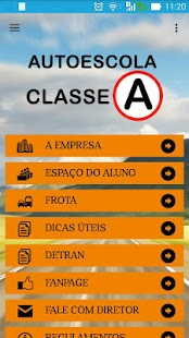 Autoescola Classe A - náhled