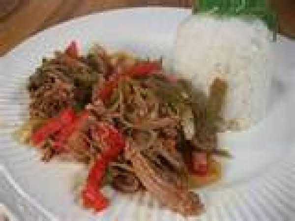 Ropa Vieja (shredded Beef) Recipe