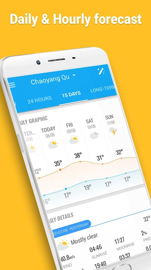 Amber Weather - Local Forecast,live weather app- screenshot