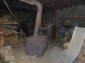 Photo: para secar las castañas