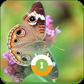 Peacock Butterfly Wall & Lock