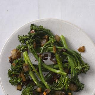 Stir-fried Broccolini, Vietnamese Style.