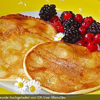 Buttermilch - Pancakes - unkompliziert und lecker