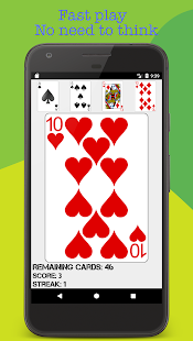 Hi-Lo(High Low) Fast Card Game- screenshot thumbnail