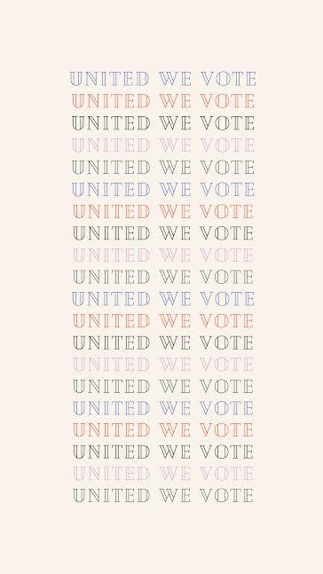 United We Vote Multi - Facebook Story Template