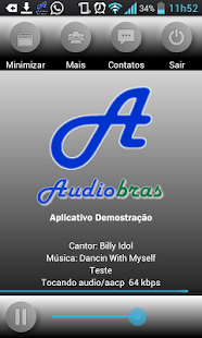 AudioBras - APP para Rádios- screenshot thumbnail