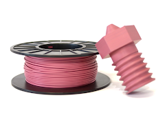 Closed Loop Plastics Party Pink U-HIPS 3D Printing Filament - 0.5kg - 2.85mm