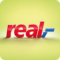 real,- leaflet, coupons icon