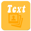 Text On Photo Easy icon